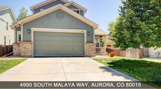 Aurora Real Estate - South Malaya Way, Aurora CO 80015
