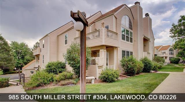 Condos in Lakewood 985 South Miller Street #304, Lakewood CO 80226