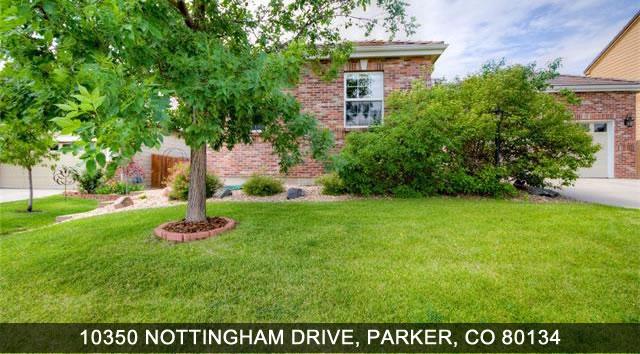 Parker Home For Sale - 1350 Nottingham Drive, Parker, CO 80134