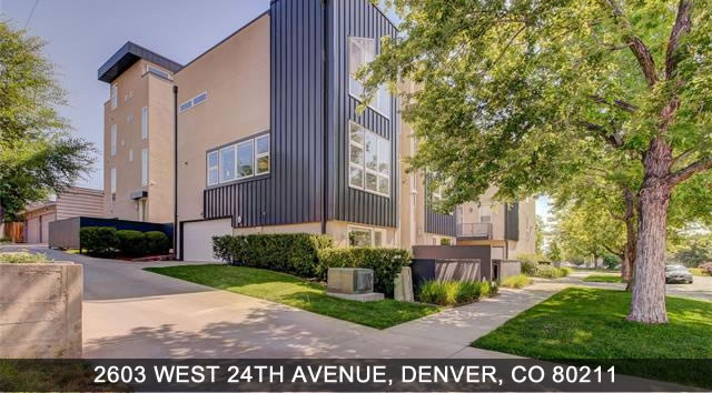 Denver Condo 2603 West 24th Ave, Denver CO 80211