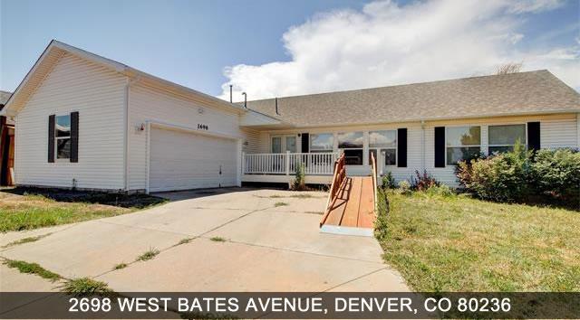 Denver CO Real Estate listing - Handicap Accessible - 2698 W. Bates Avenue, Denver CO 80236