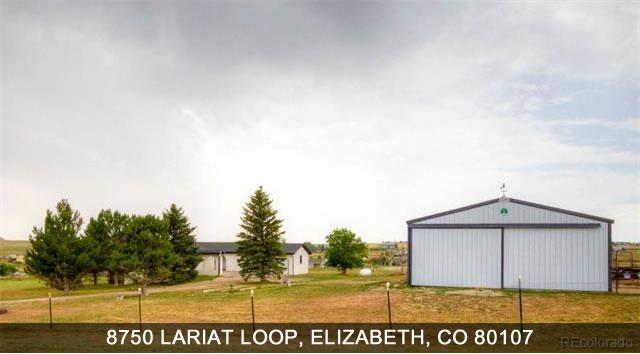 Colorado Real Estate - 8750 Lariat Loop Elizabeth CO 80107