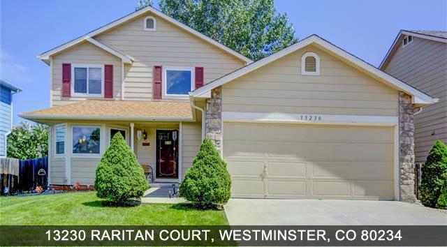 Homes for Sale Westminster Colorado