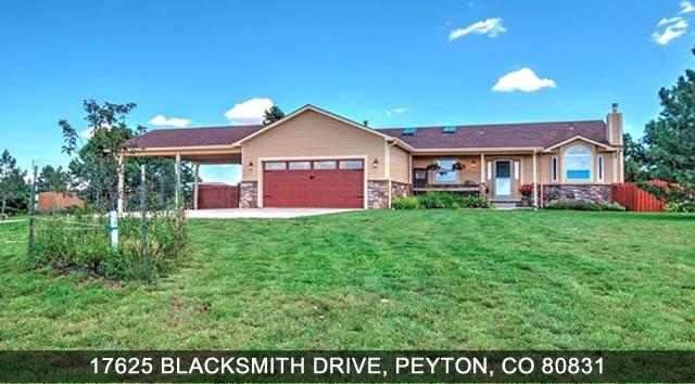 Homes for sale peyton colorado