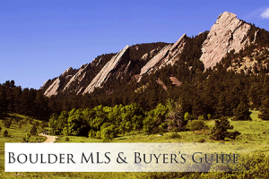 Boulder MLS and Buyers Guide