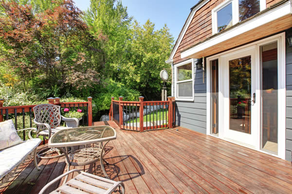 Home Buyers Purchase Rebate for New Deck