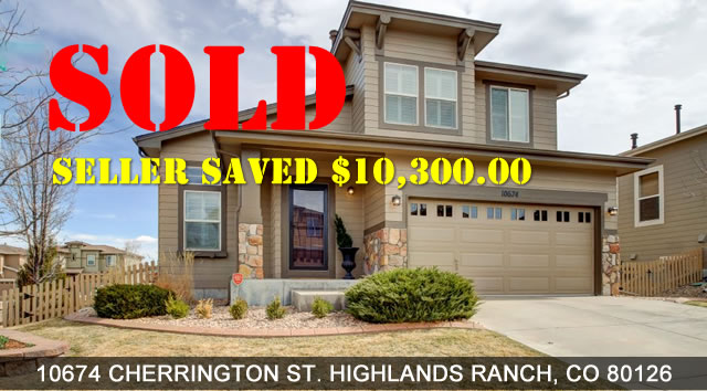 Sold Property - Seller saved $10,300.00