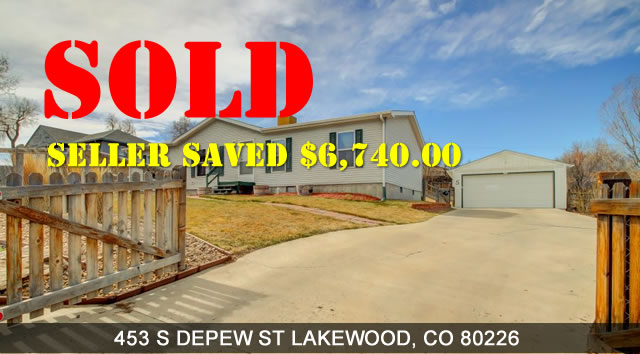 Another Property Sold By Colorado Flat Fee Realty