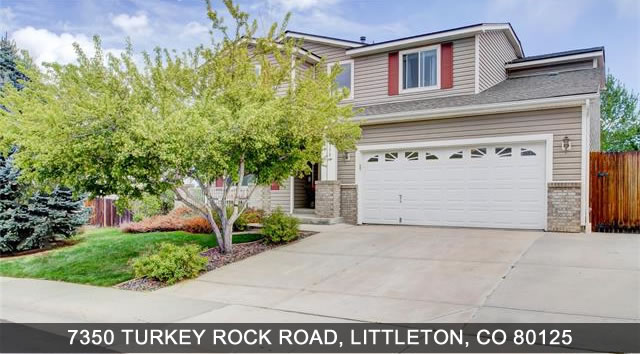 Home for sale in Littleton 7350 Turkey Rock Road