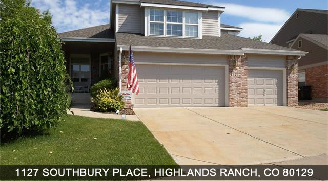 Highlands Ranch homes for sale - 1127 Southbury Place