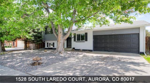 Aurora Homes 1528 South Laredo Court Aurora CO 80017