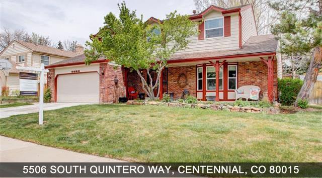 Centennial Home For Sale 5506 South Quintero Way