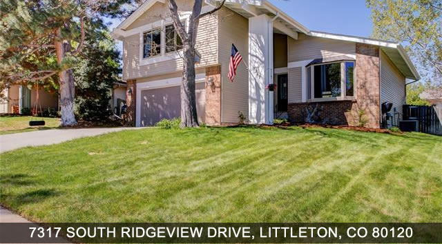 Littleton Real estate 7317 South Ridgview Drive