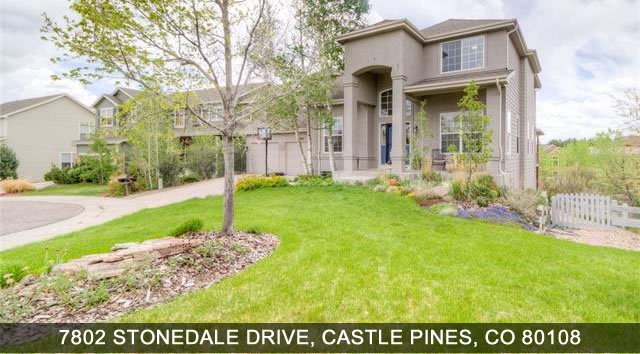 Castle Pines Homes for Sale 7802 Stonedale drive