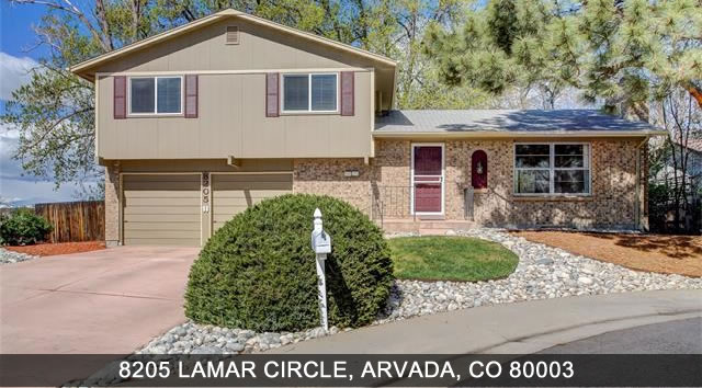 Homes for sale in Arvada 8205 Lamar Circle