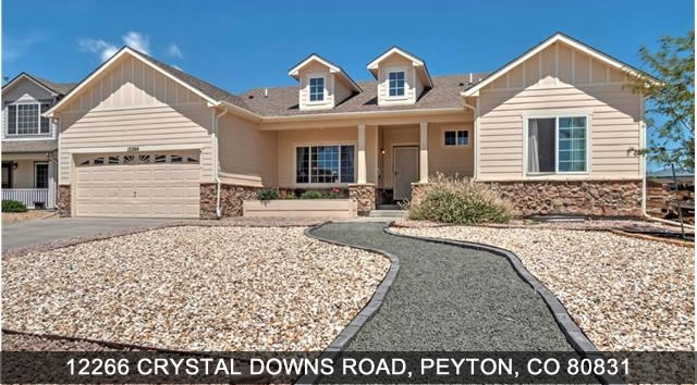 Peyton Colorado Homes for Sale