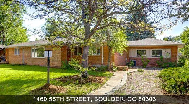 Real Estate Boulder - 1460 55th street, boulder co 80303