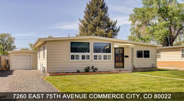 Commerce City Colorado Homes for Sale