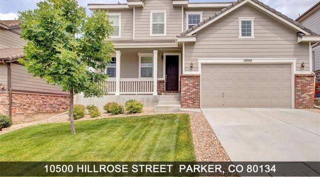 Homes for Sale Parker Colorado