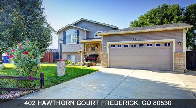 Homes For Sale Frederick Colorado