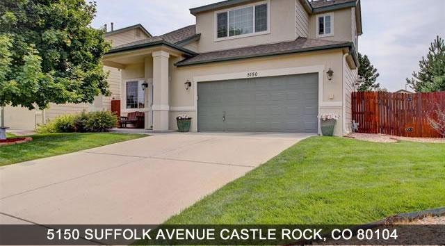 Homes for Sale Castle Rock Colorado