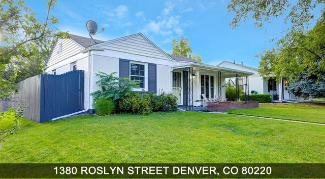 Home for Sale in Denver CO