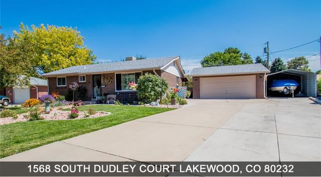 Home for Sale Lakewood Colorado