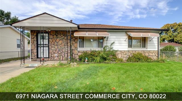 Home for sale Commerce City