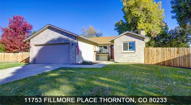 Homes for sale in Thornton Colrado
