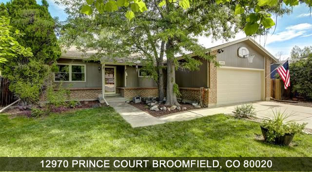 Homes for sale Broomfield Colorado