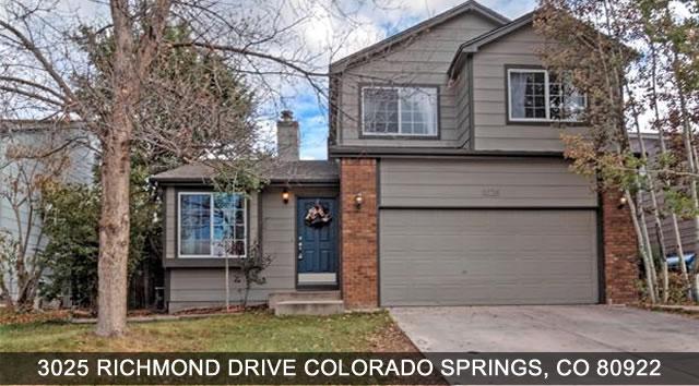 Homes for Sale in Colorado Springs Colorado