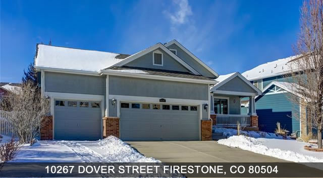 Homes for sale in Firestone CO