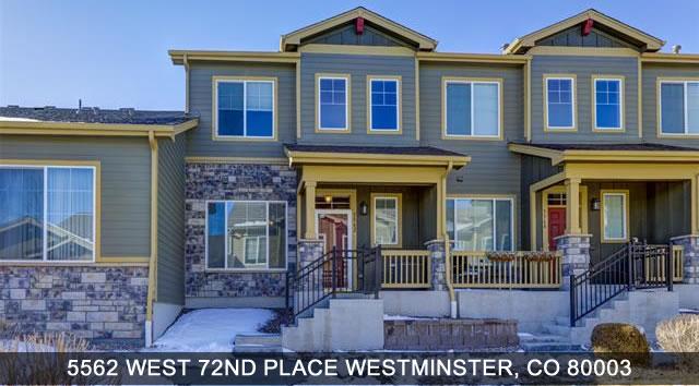 Westminster Colorado homes for sale