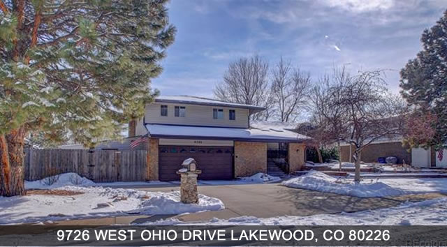 Homes for Sale Lakewood CO
