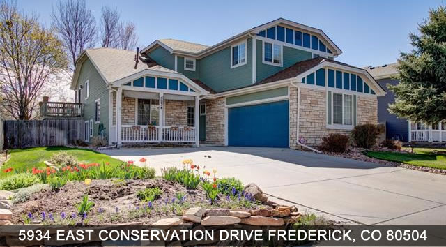 Homes for Sale Frederic Colorado
