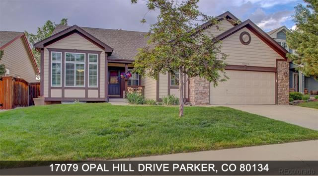 Homes for sale parker colorado