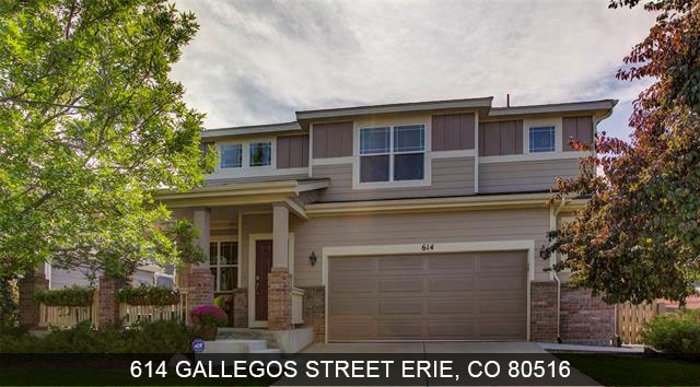 Homes for sale Erie Colorado