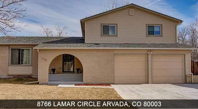 Homes for sale Arvada CO