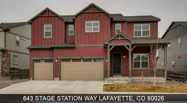 homes for say in lafayette colorado