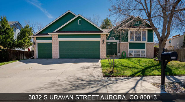 homes for sale aurora colorado