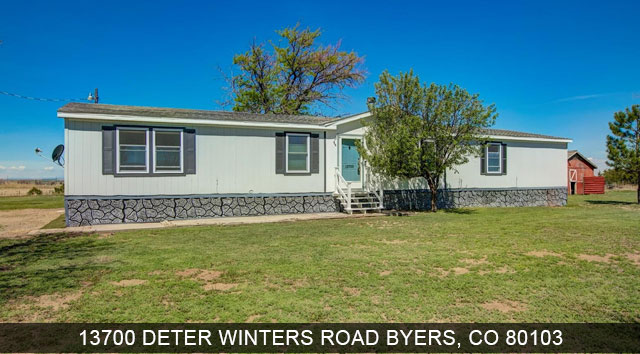 homes for sale byers colorado