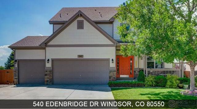 homes for sale windsor colorado