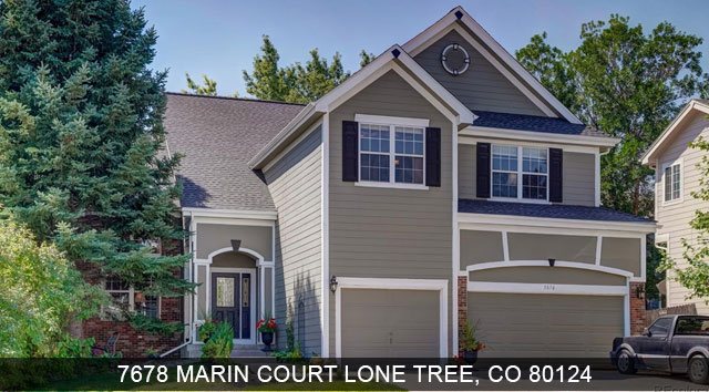 homes for sale lone tree colorado