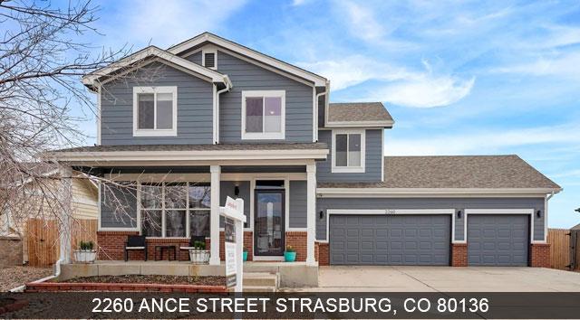 strasburg co homes for sale