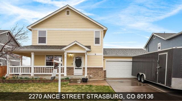 strasburg homes for sale