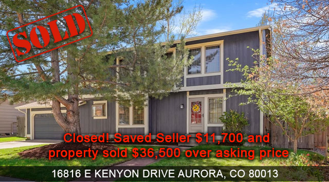 seller saved $11,700 on home