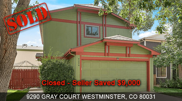 9290 GRAY COURT WESTMINSTER, CO 80031