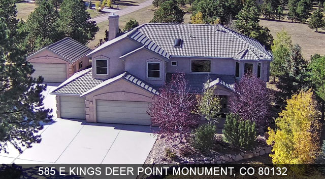 monument colorado homes for sale